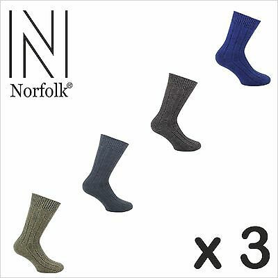 Norfolk 3 Pairs Casual Everyday Men's Sock Style: SIMON