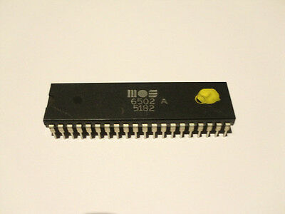 MOS 6502 A CPU IC Chip für Commodore VIC20 VC20 New OLD Stock up to 2Mhz Neu