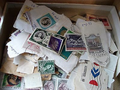 Old Collection Of  Worldwide Stamps .