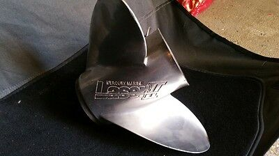 Laser 2 Stainless Steel Propeller 23 Pitch