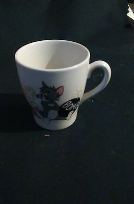 Childs Ceramic Vintage Tom and Jerry cup/mug 1970 Metro Goldwyn Mayer 8cm