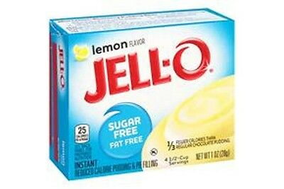 Jello Sugar Free Instant Lemon Pudding 28g