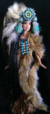 Beauty of the Plains Native American Indian ~barbie doll ooak world
