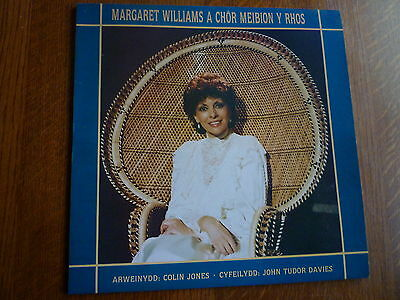 MARGARET WILLIAMS CHOR MEIBION Y RHOS Nr MINT VINYL LP WELSH MALE VOICE CHOIR