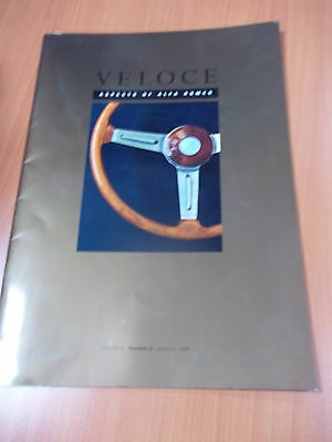 Alfa Romeo Veloce magazine - Autumn 1996 - 31 pages of articles and pictures
