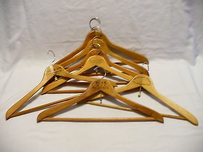 7 Unique TAIWAN ASIAN TAILORS Wooden Suit Pant Bar Hangers Mr Loo, Tailor Loo