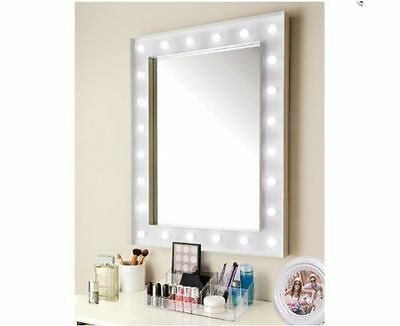 New Modern Stylish 24 Led Hollywood Bulb Mirror Make Up Dressing Table Mirror