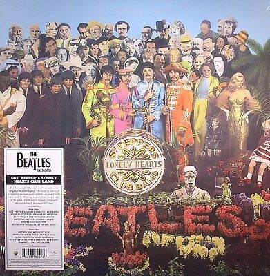BEATLES, The - Sgt Pepper's Lonely Hearts Club Band (mono) (remastered) - LP
