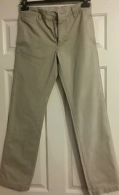 Boys Gapkids Beige Chino Style Trousers Aged 13 years