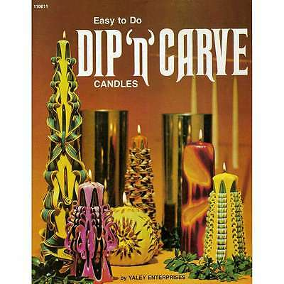 Yaley Books-Dip n Carve Candles 052124104713