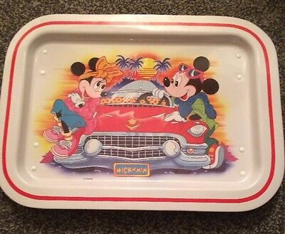 Mickey And Minnie Mouse Vintage Lap Tray