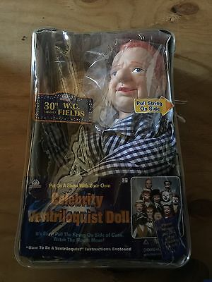 Goldberger 30 W.C. Fields Ventriloquist Doll With Tote Bag