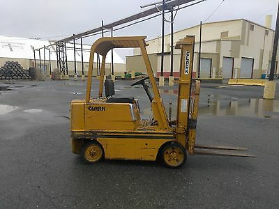 1964 Clark C50B 5000LB Forklift 0945 Hours AS IS!!