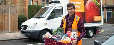 Save up to £60 on your first 5 online grocery shops