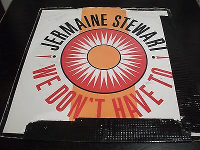 "12"" Vinyl Record/ Jermaine Stewart - We Don't Have To ! : Vg+"