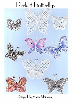 Maria Maidment Perfect Butterfly  Parchment Craft Pattern
