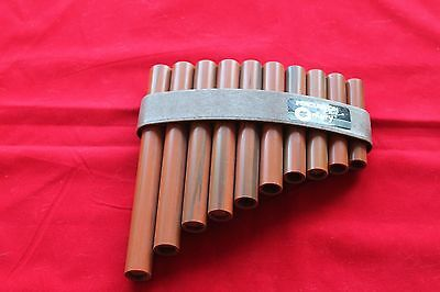 Percussion Plus  10-pipes  Pan Pipes