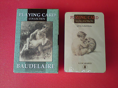 BAUDELAIRE Les Fleurs du Mal 54 Illustrated Playing Card Collection