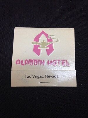 Vtg  Aladdin HOTEL CASINO LAS VEGAS Matches Matchbook,unused