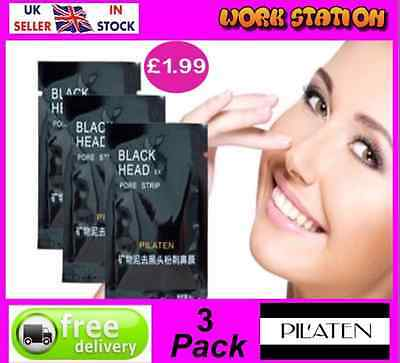 Blackhead Acne Pore Peel off Mask Cleansing Cleaner X3 Spot Removal Mineral Mud