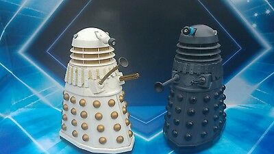 Doctor Who RARE DALEKS WHITE  ...GRAY