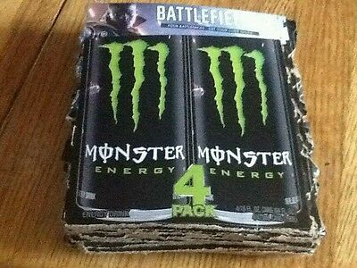 Battlefield 1/Monster Promo Codes - 5 codes = A Total of 20 Battle packs