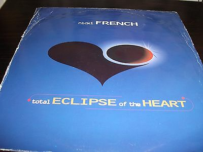 "12"" Vinyl Record/ Nicki French - Total Eclipse Of The Heart : Vg+"
