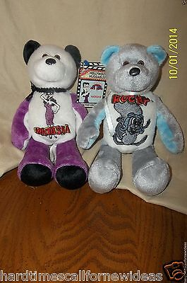 Rocky & Bullwinkle Treasure Champs Lot of 2 Rocky & Natasha Beanbag Plush 200
