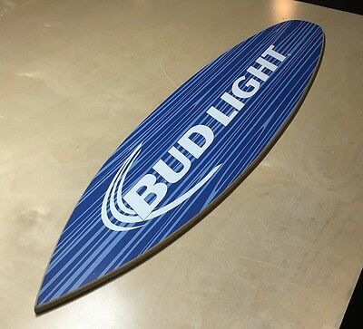 Bud Light Surfboard Sign