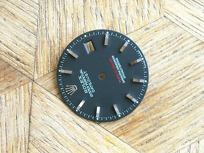 Used Genuine ROLEX Black DIAL for TURN-O-GRAPH 116264.