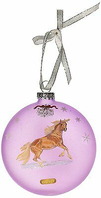 Breyer Artist Signature Ornament Mustang Holiday 2015 Collection  019756708153