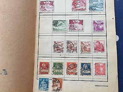 European Countries approval club booklet with mostly used stamps