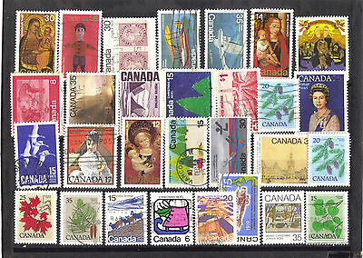 Canada good used selection of stamps