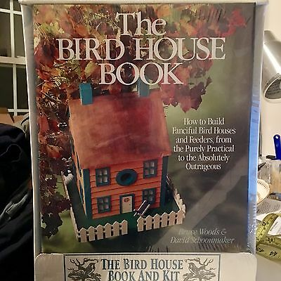 The BIRD HOUSE Book and Kit by Woods & Schoonmaker DIY Craft - NIB