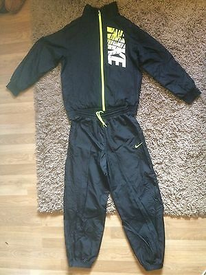 Nike Boys Kids Full Tracksuit (Black) Ages 12-13 Years - Good Condition