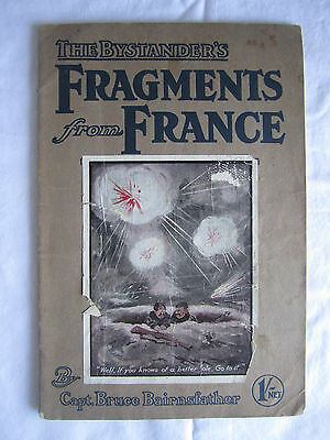 1916 WWI Bystander's FRAGMENTS FROM FRANCE magazine Bairnsfather 11th Edition