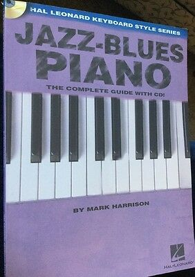 Jazz-Blues Piano Book By Mark Harrison