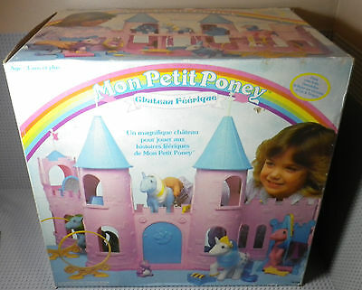 Mon Petit Poney / Little Pony - Chateau Féérique Dream Castle - Hasbro 1984 Neuf