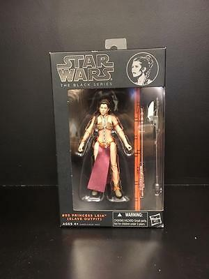 Hasbro STAR WARS Black Series #05 PRINCESS LEIA Slave Outfit Action Figure - NIB