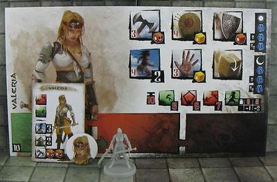 Conan the board game : Valeria with Hero & Overlord Leader rules