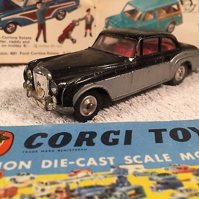 Corgi Toy No 224 Bentley Continental Sports Saloon 1960s