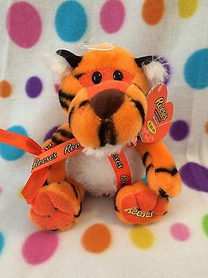 Reese's New Plush Tiger NWT Talking 10 Inch Galerie W/ Tags Super Cute!