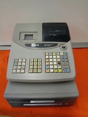 Casio Electronic Cash Register Ce-T100  With Key