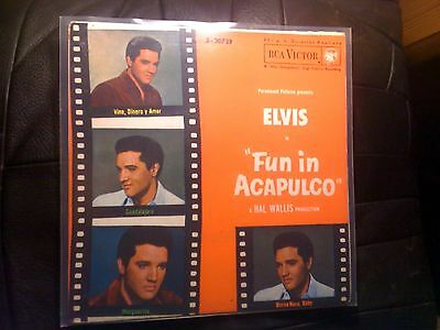 "Elvis Presley ‎- Fun In Acapulco 3 - 20739 - Vinyl, 7"", EP, 45 RPM Spain - RAR"