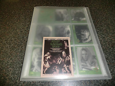 Night Of The Living Dead Binder Cards Foils Promos And Autograph New