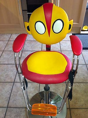Childs Hair Cutting Chair/BARBERS-hairdresser