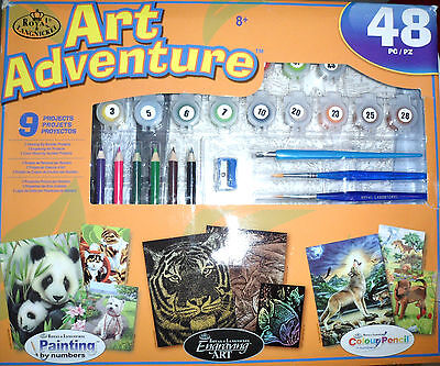 Art Adventure 49 Piece And 9 Projects
