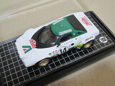 LANCIA STRATOS 1975 Monte Carlo winner #14 Mini car made by Del Prado 1/43
