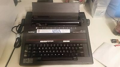 BROTHER AX-22 Portable Electronic Typewriter tested!