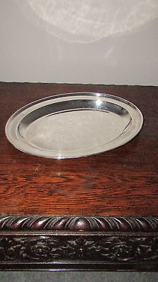 Antique ELKINGTON & CO SILVER PLATE A Quality Oval Large Plated 36cm Heavy Meat